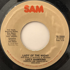 LUCY HAWKINS:LADY OF THE NIGHT(LABEL SIDE-A)