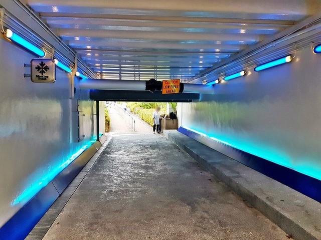 Sound Tunnel by SNA x Yuta Nakayam Interactive Design