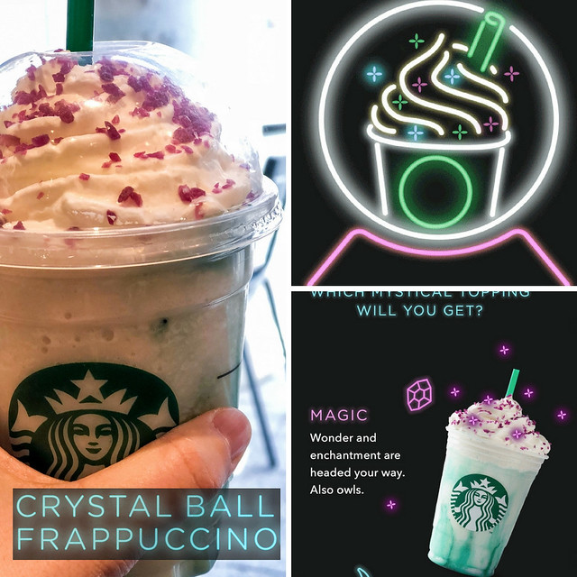 Product Review Starbucks Crystal Ball Frappuccino & Sous Vide Egg Bites