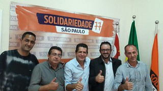 Presidente so Solidariedade-SP recebe lideranças de Jarinu