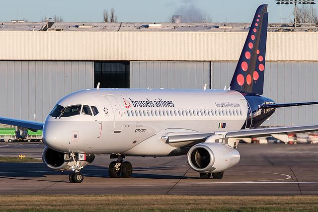 EI-FWF / Brussels Airlines / Sukhoi Superjet 100-95B