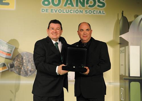Ventura Martín Guillén mejor vendedor de la Once en Andalucía