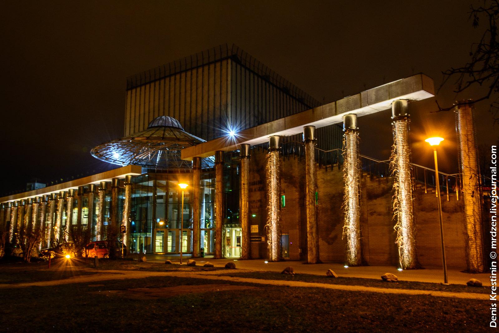 Белосток. Театр Оперы и филармонии Подляска.