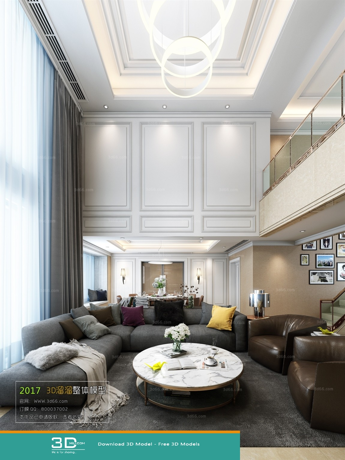 86. Living room 3DSmax file free download - 3D Mili - Download 3D ...