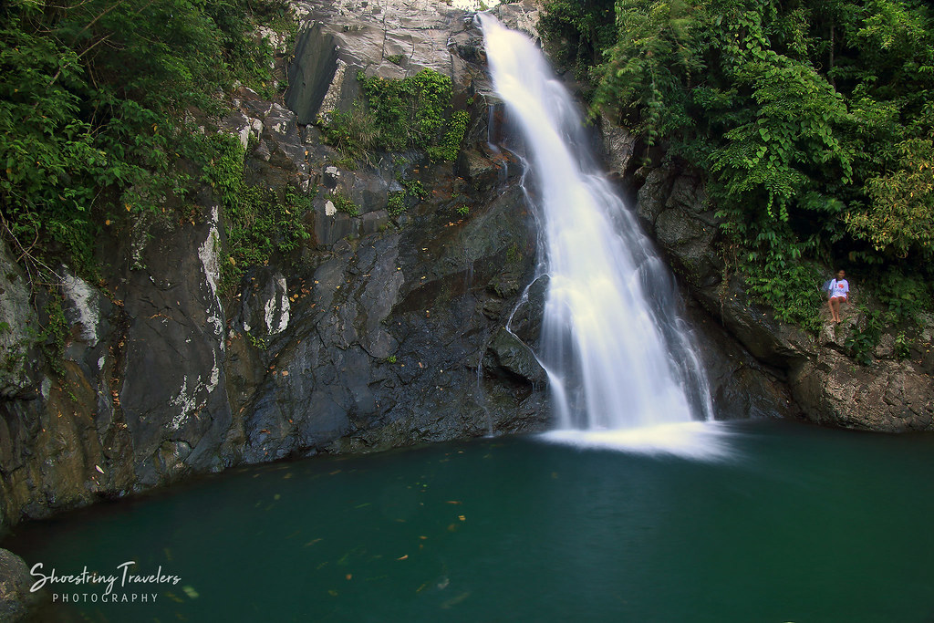 top tier of Maribina Falls, Bato