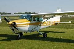 G-BHCC Cessna 172M (172-66711) Popham 080608