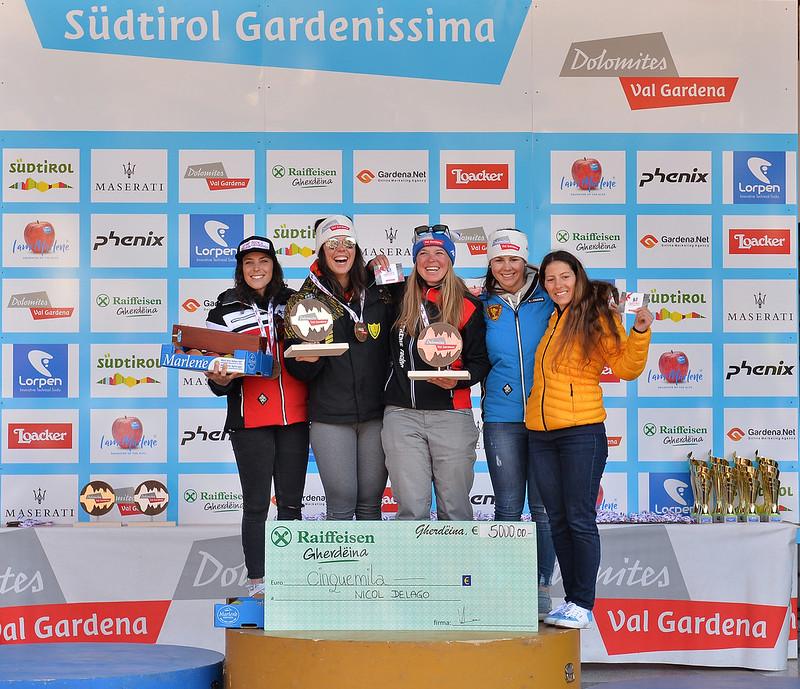 PRIZE-GIVING Südtirol Gardenissima 2018