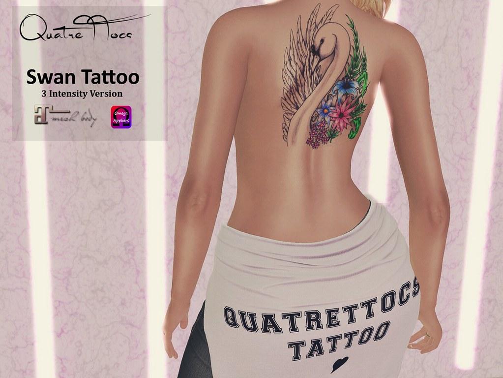 Swan Tattoo - TeleportHub.com Live!