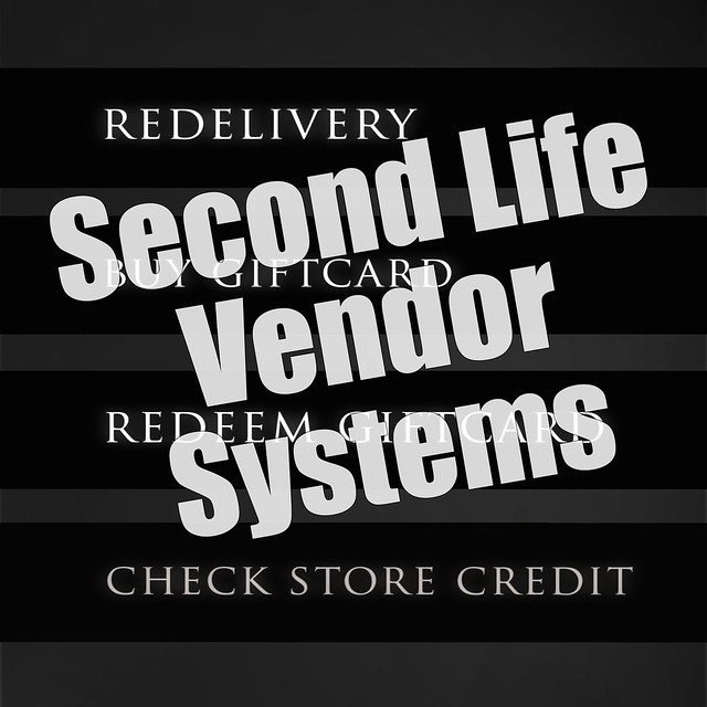 Second Life Vendor Systems