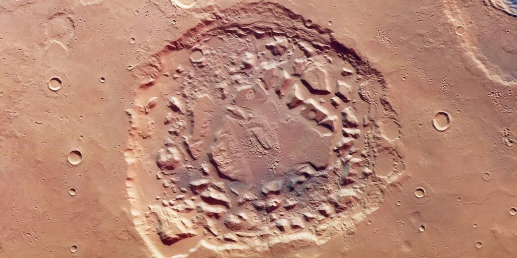 La formation Ismenia Patera est-elle un cratère ou un supervolcan ?
