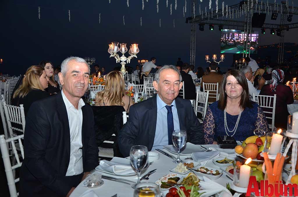 İbrahim Arıkan, Nazmi Reisoğlu, Belgi Reisoğlu
