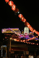 Kek Lok Si Last Night Lights