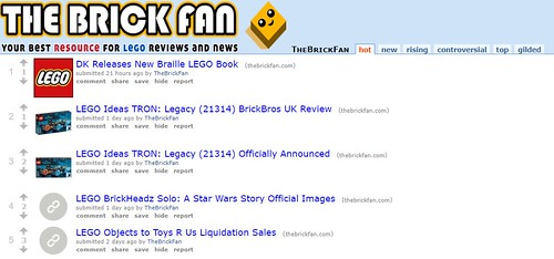 The Brick Fan Subreddit