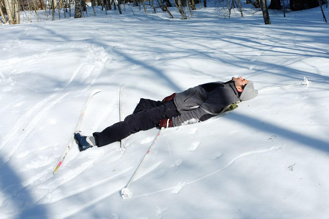 sola i snö