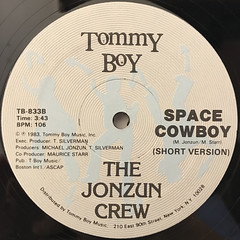THE JONZUN CREW:SPACE COWBOY(LABEL SIDE-B)