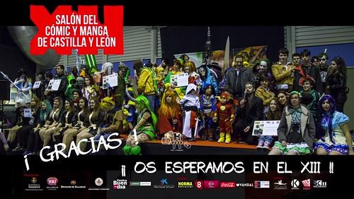 XII Salón del Cómic y Manga de Castilla y León. Video Resumen oficial