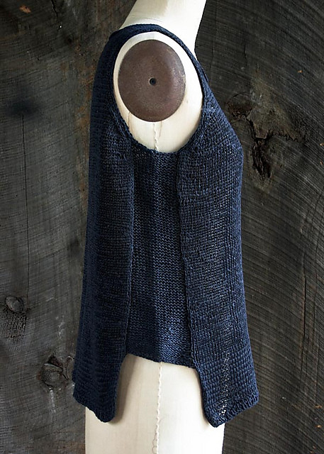 Notched Hem Tank Top by Purl Soho