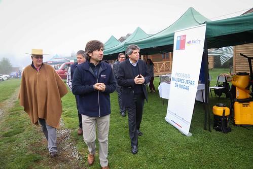 Director Nacional de INDAP visita la Región del Maule