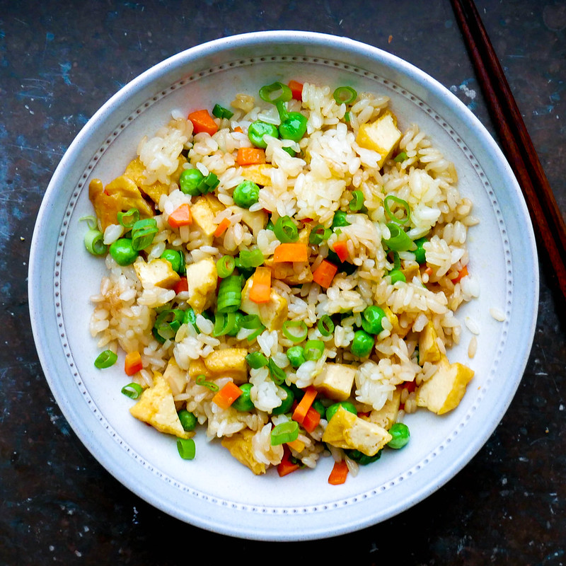 Fried rice med tofu