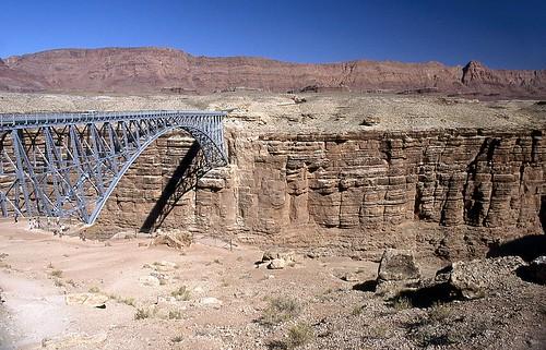 navajobridge marblecanyon arizona étatsunis