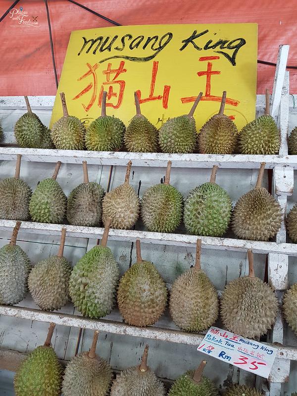 durian stall taman segar musang king