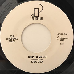 LISA LISA:SKIP TO MY LU(LABEL SIDE-A)