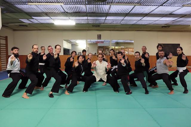 Paolo Cangelosi, maître de Kung Fu
