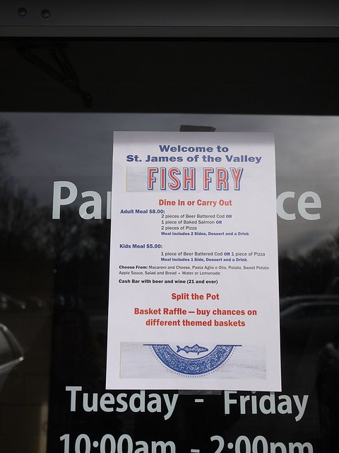 St. James of the Valley Fish Fry