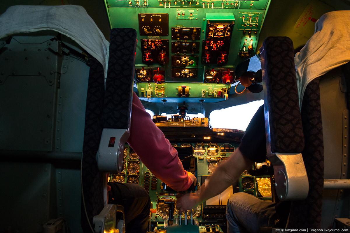 Авиасимулятор Ту-154
