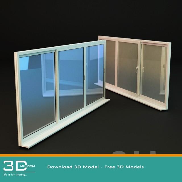 75 Window 3dsmax Model Free Download 3d Mili Download