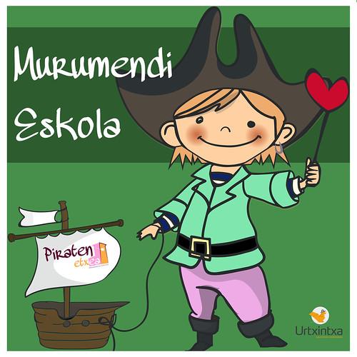 Pirata Egonaldia- Murumendi Eskola 2018-04-23 / 2018-04-24