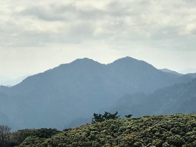 入道ヶ岳 山頂から仙ヶ岳