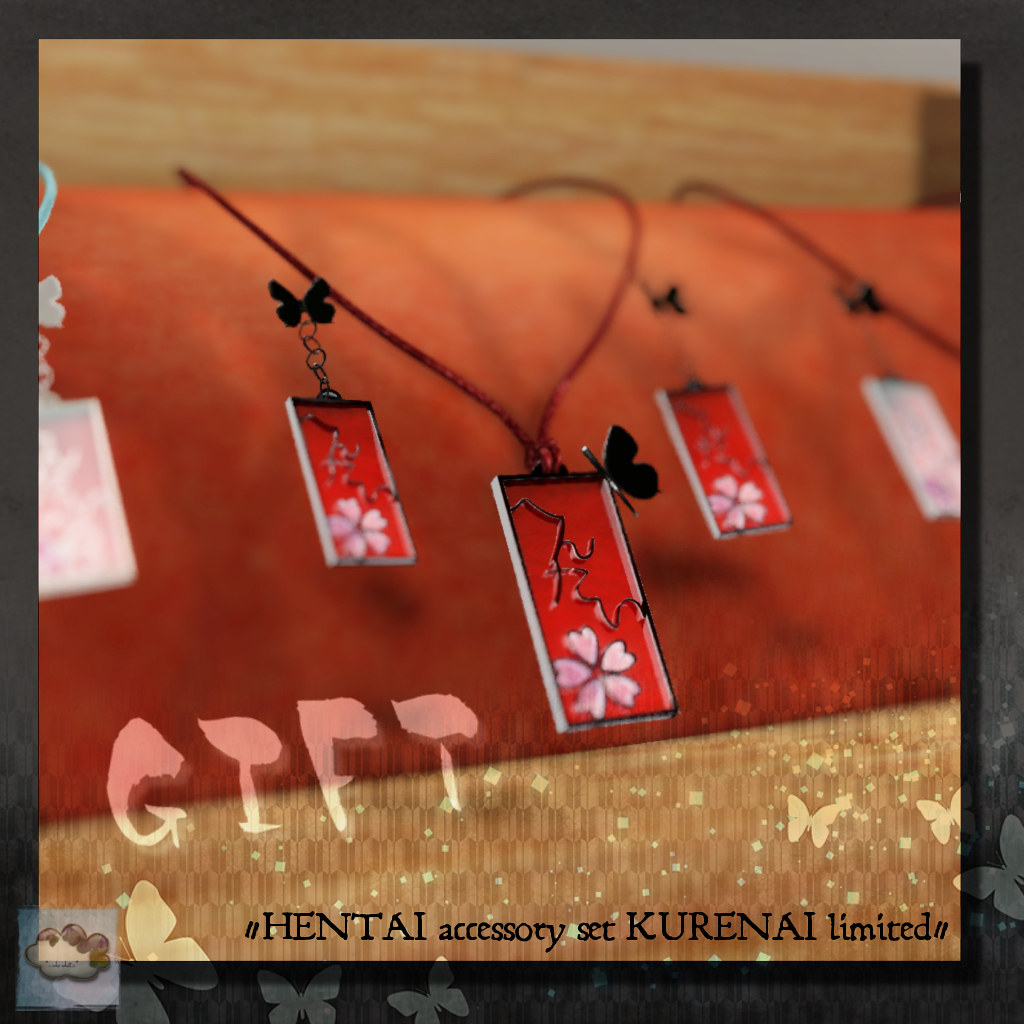 *::.who what.::* [Jpn] -HENTAI accessory set KURENAI limited- - TeleportHub.com Live!