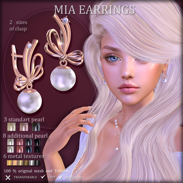 MIA EARRINGS ( at The Chapter Four)