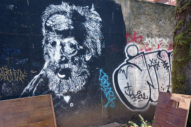 Vancouver Street Art alley, Sony NEX-7, Sony E 16-70mm F4 ZA OSS