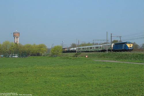 TUC Rail 6244 + Weedfree & 5528 - Melle (B) 14-04-2018.