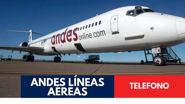 Andes Líneas Aéreas Telefono