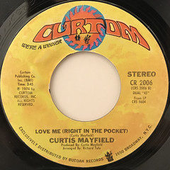 CURTIS MAYFIELD:MOTHER'S SON(LABEL SIDE-B)