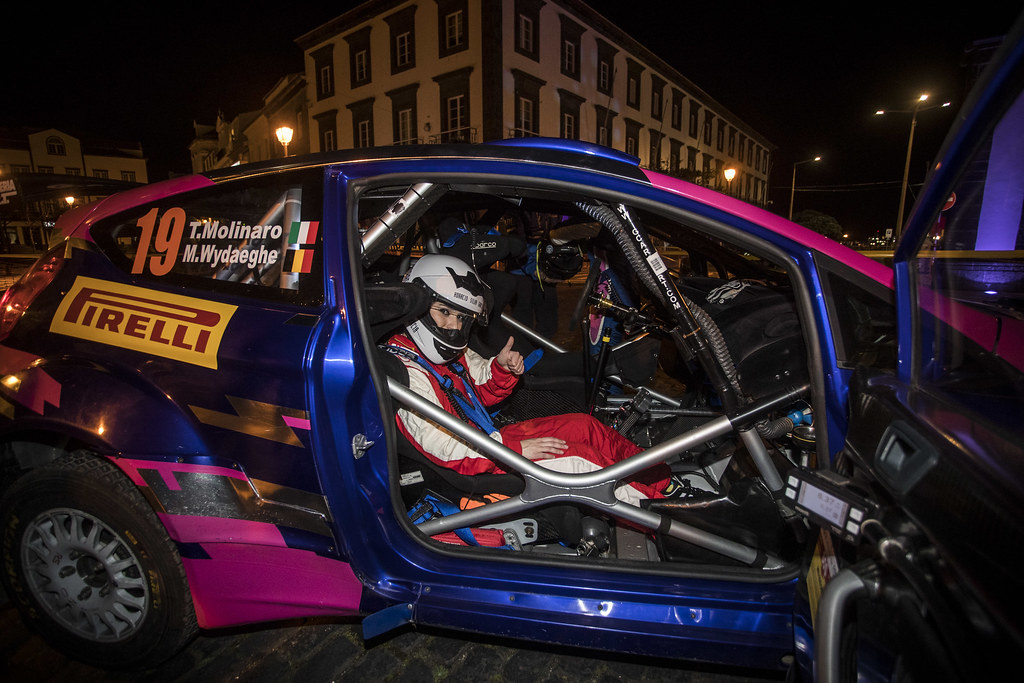 19 MOLINARO Tamara (ita),  FORD FIESTA R5, portrait during the 2018 European Rally Championship ERC Azores rally,  from March 22 to 24, at Ponta Delgada Portugal - Photo Gregory Lenormand / DPPI