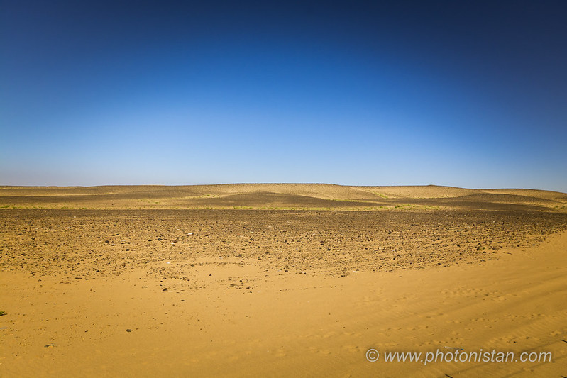 Desert - Minimalist Shot