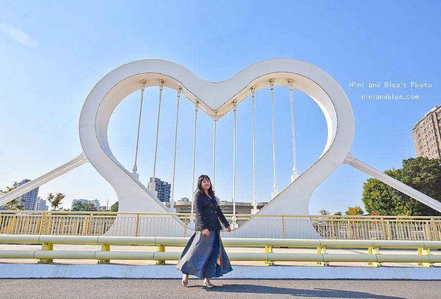 台中西川橋 景觀橋 愛心 玉音 崇倫 水岸21