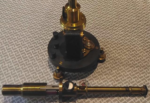 Galvanometro D'Arsonval - Siemens Halske - aperto con protezione ins
