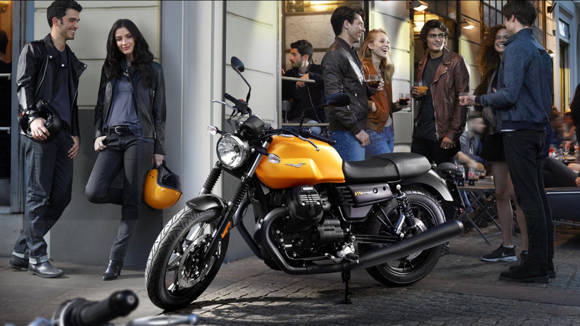 Review : Moto Guzzi V7 Stone III (2017)