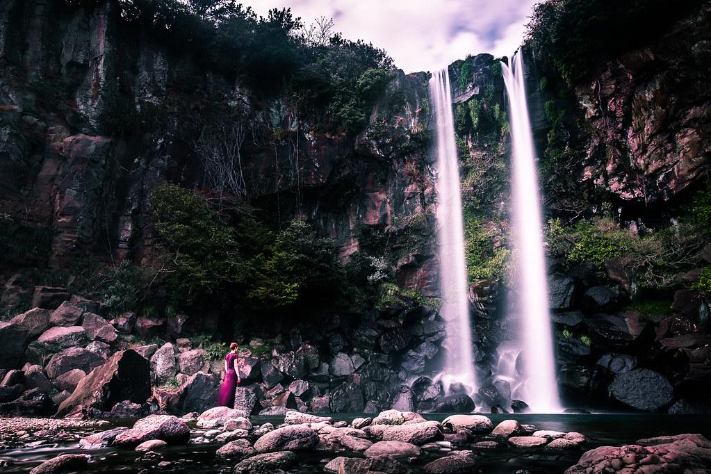 Jeongbang Falls - Jeju, South Korea - Travel photography