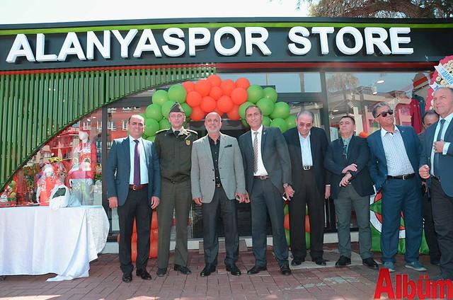 Alanyaspor Store açılış-6