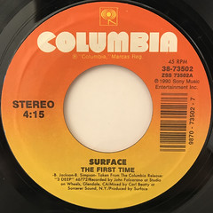 SURFACE:CLOSER THAN FRIEDS(LABEL SIDE-B)