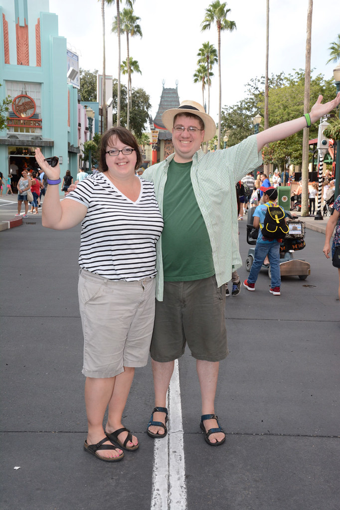 Ken and I at Hollywood Studios