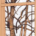 Tree by the Art Gallery, Wolverhampton - with papercutting