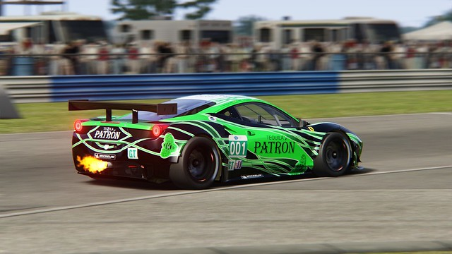 Ferrari 458 GT2 - ESM - Sebring 2011
