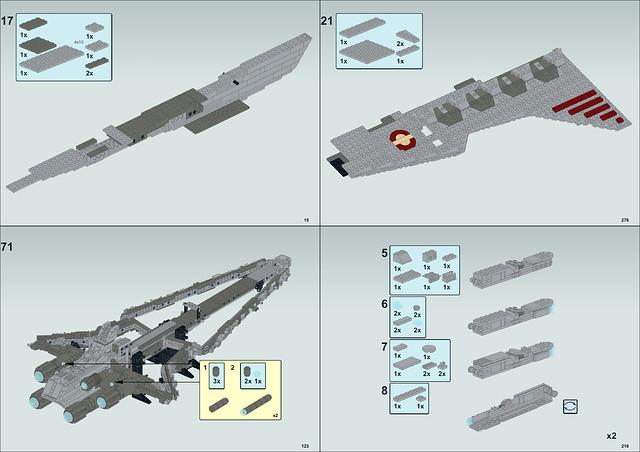 Lego Moc 14078 Ucs Venator Class Star Destroyer Star Wars
